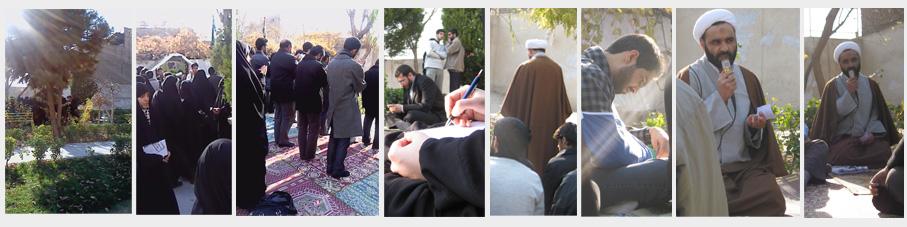 دیدار دانشجویان دانشگاههای تهران و دوستان وبلاگ نویس با طلبه ی عدالتخواه سیرجانی به روایت تصویر